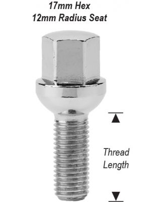12mm 1.50 LUG BOLTS QUICK ORDER FORM